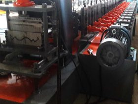 Metal Roof Ridge Cap Flashing Roll Forming Machine