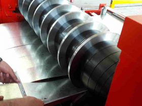 steel coil slitting process