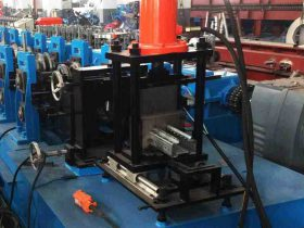 Warehouse Storage Pallet Rack Roll Forming Machine
