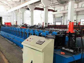 Storage Pallet Rack Roll Forming Machine