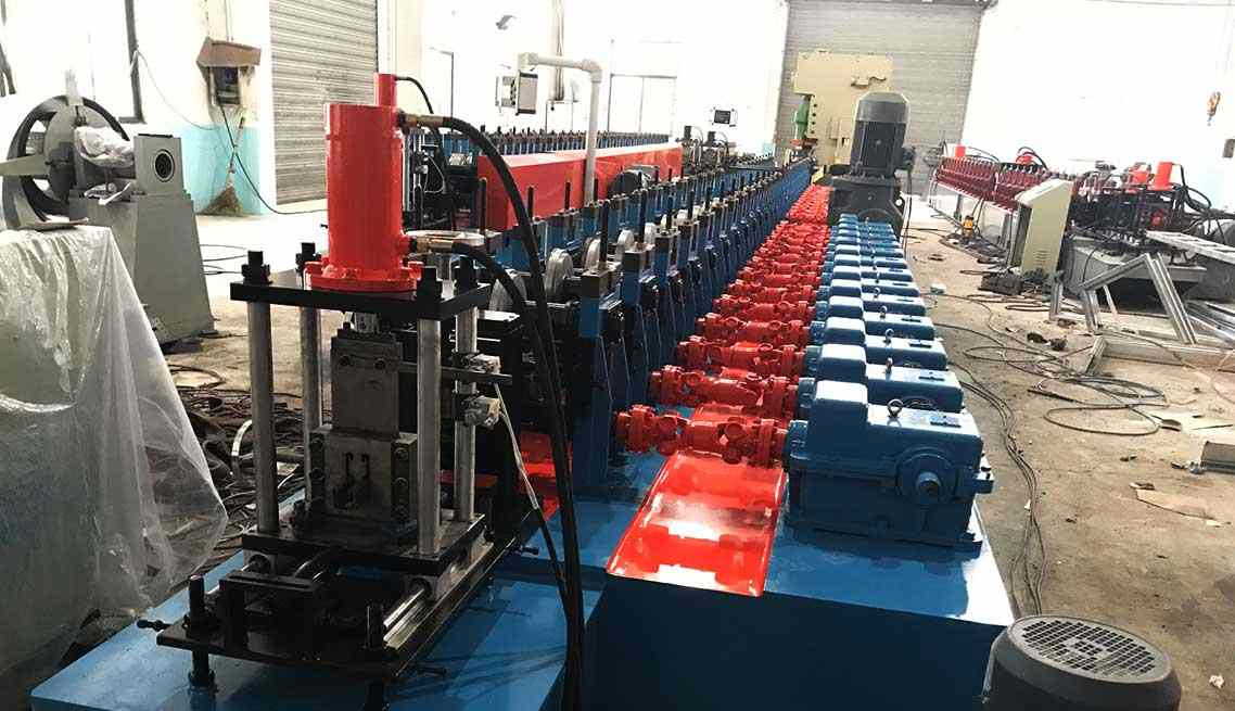 ▷ Solar Panel Mounting Bracket Roll Forming Machine | LOTOS
