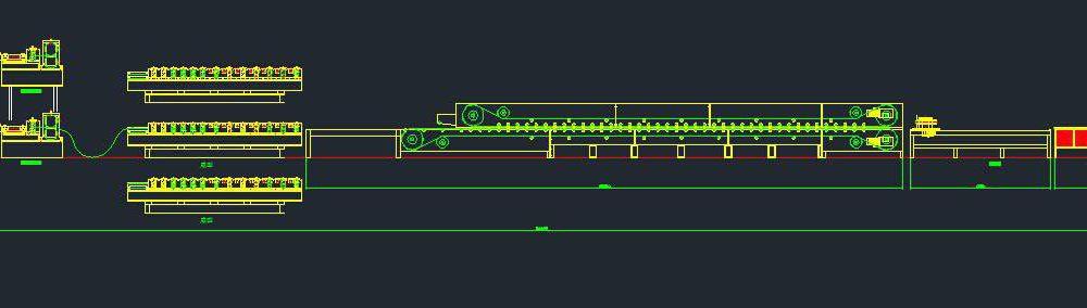 siding wall cladding panel production line