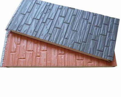 PU foam siding wall cladding panel
