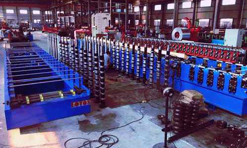 adjust roll forming machine