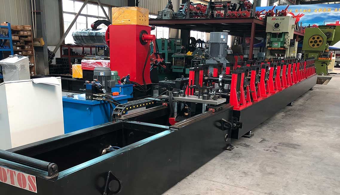 u support roll forming machine