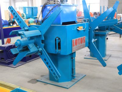 DECOILER welded pipe making machine