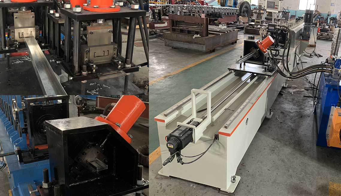 Multi size wall stud and track forming machine