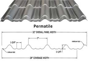 Permatile-Panel-tile-forming-machine