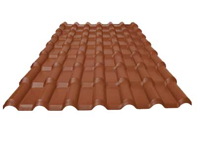 metal tile roof panel machine