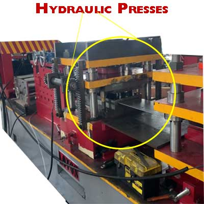 Press Punching In Roll Forming Line