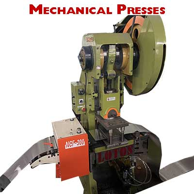 Mechanical-Presses-in-roll-forming-machine