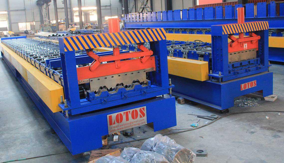 Steel Deck Roll Forming Machine