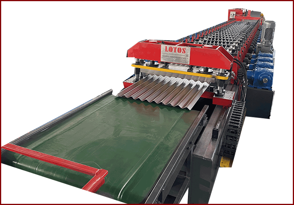 LARGE SIZE ROLL FORMING MACHINE