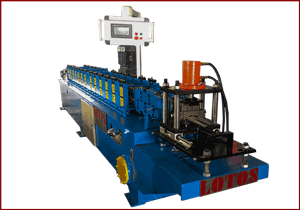 SMALL SIZE ROLL FORMING MACHINE