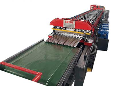 Steel Silo Corrugated Side Panel Roll Forming machine