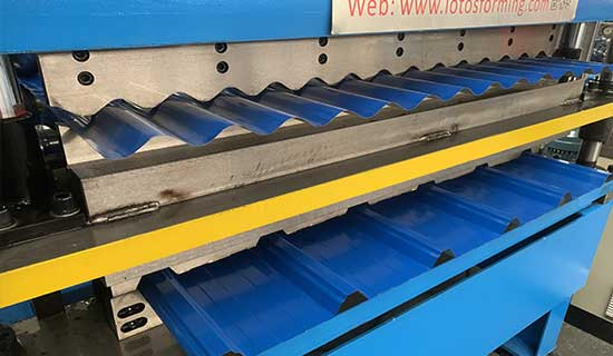 Steel-double-layer-roll-forming-machine
