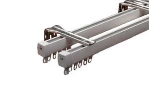 Curtain rail roll forming machine