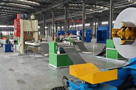 Noise-barriers-making-machine