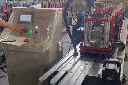 Steel-storage-shelf-production-line