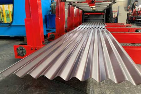 SILO panel ROLL FORMING MACHINE
