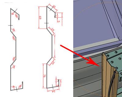 Ladder Bar Roll Forming Machine