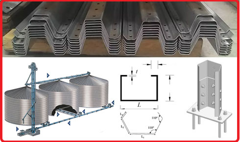 Silo Post Roll forming Machine