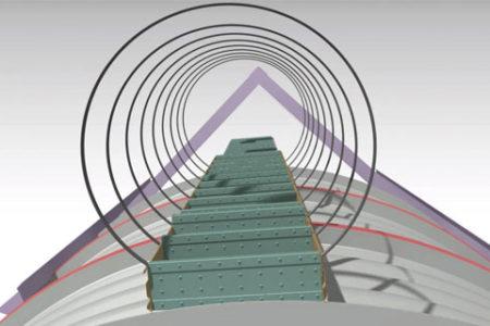 Silo-step-ladder-machine