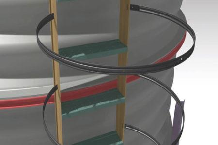 steel-Silo-ladder-machine