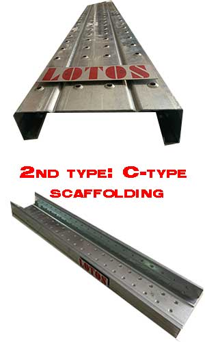 C type scaffolding