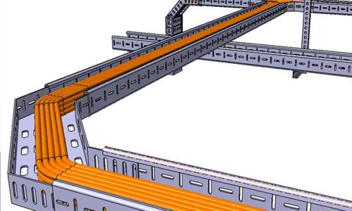 Cable-tray-production-line
