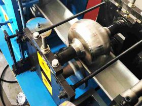 best steel gutter rain gutter roll forming machine