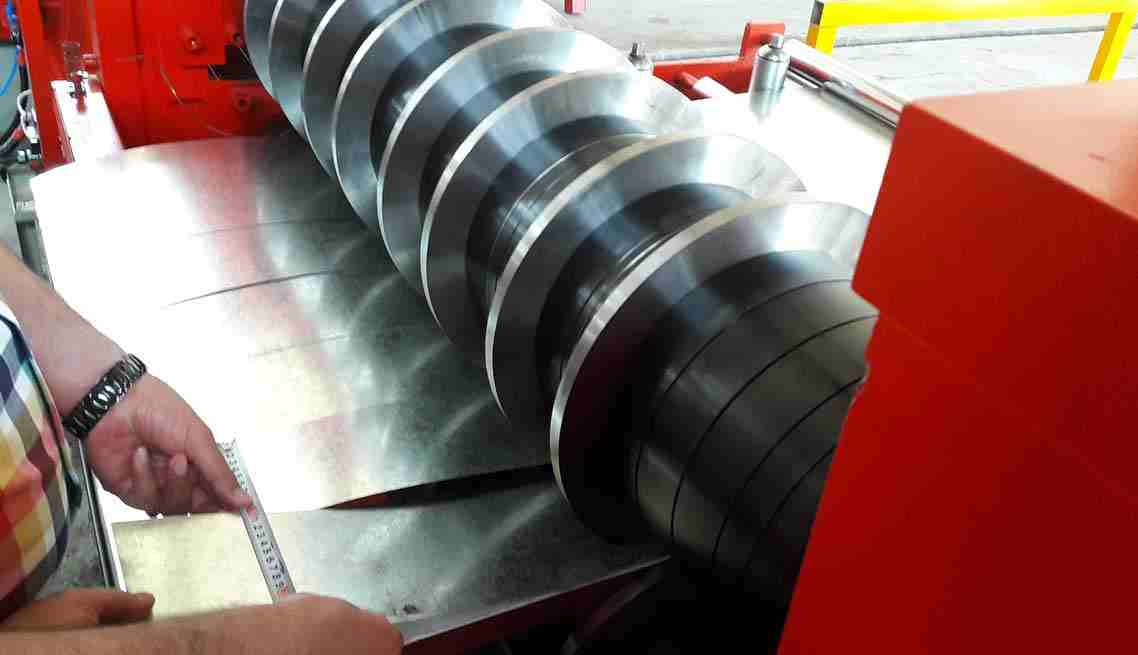 Steel Slitting Machine Coil Slitting Lotos 2o19