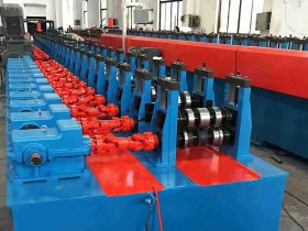 China Solar Panel Bracket Production line