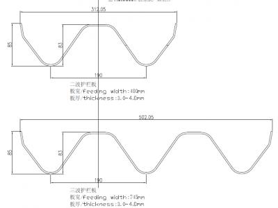 guardrail installation machine
