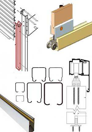 Door Guide Rail Roll Forming