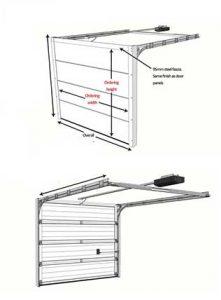 Steel Garage Door Panel Roll Forming Machine