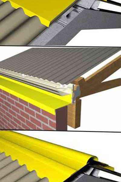 Metal Ribbed Ridge Cap Roll Forming Machine