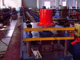 C Shape Steel Beam Roll Forming Machine